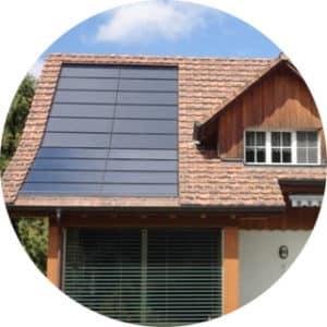Indach-Dach-integrierte-Photovoltaikanlage