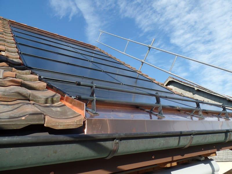 Indach-Photovoltaik-Installation