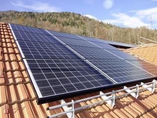 Photovoltaikanlage für Heusser