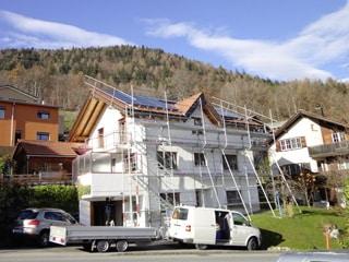 Photovoltaikanlage für Fritz Heusser