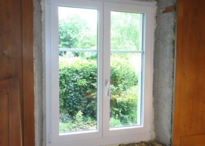 Neues Fenster montiert