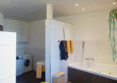 Vergrösserung Badezimmer in Felben
