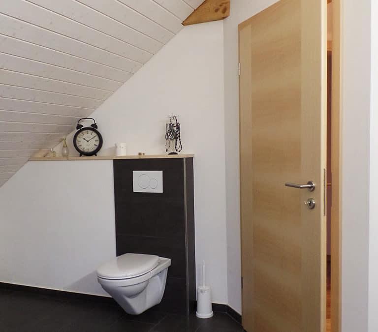 Einbau einer Dusche/WC in Aadorf