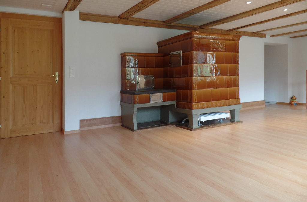 Wohnzimmerumbau in Balterswil