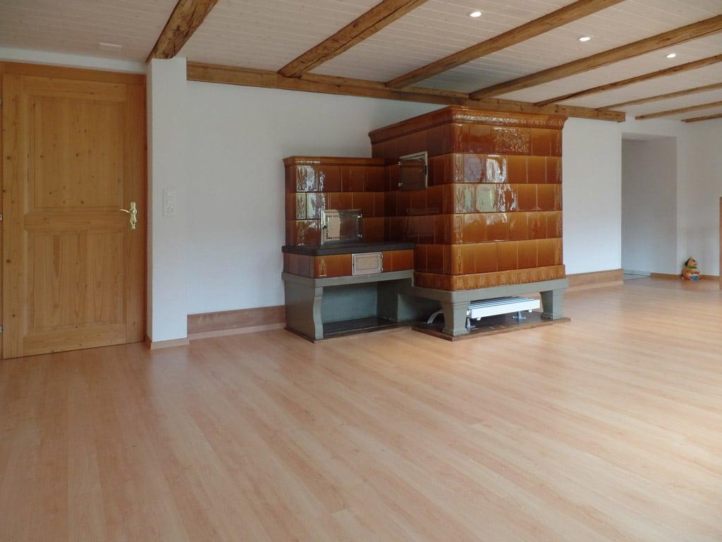 Wohnzimmerumbau in Balterswil | Bau Fair Umbauten und Photovoltaik