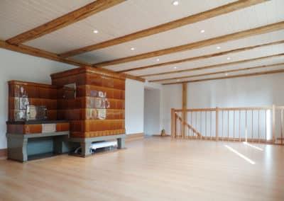 Einbau Hauseingang, Umbau Wohnzimmer in Balterswil