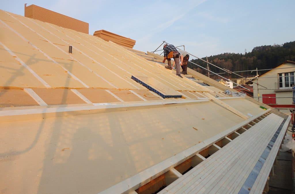 Sanierung Dachdämmung Postgebäude Balterswil