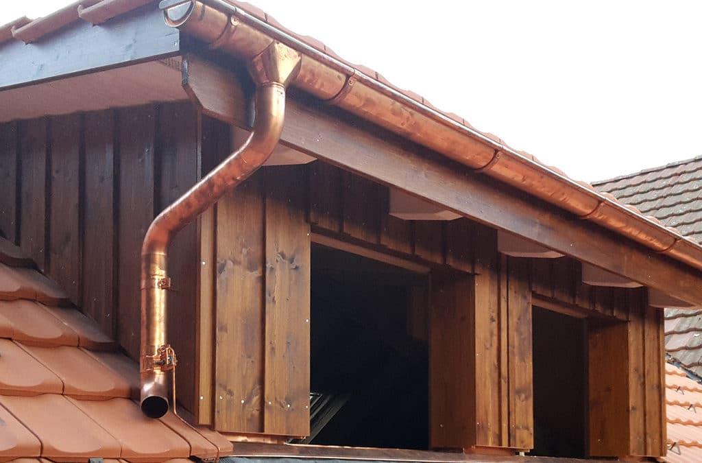 Schleppgaube einbauen in Dinhard