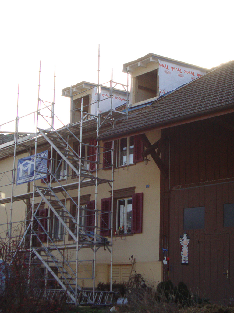 ausbau dachgeschoss in balterswil bau fair umbauten und photovoltaik. Black Bedroom Furniture Sets. Home Design Ideas