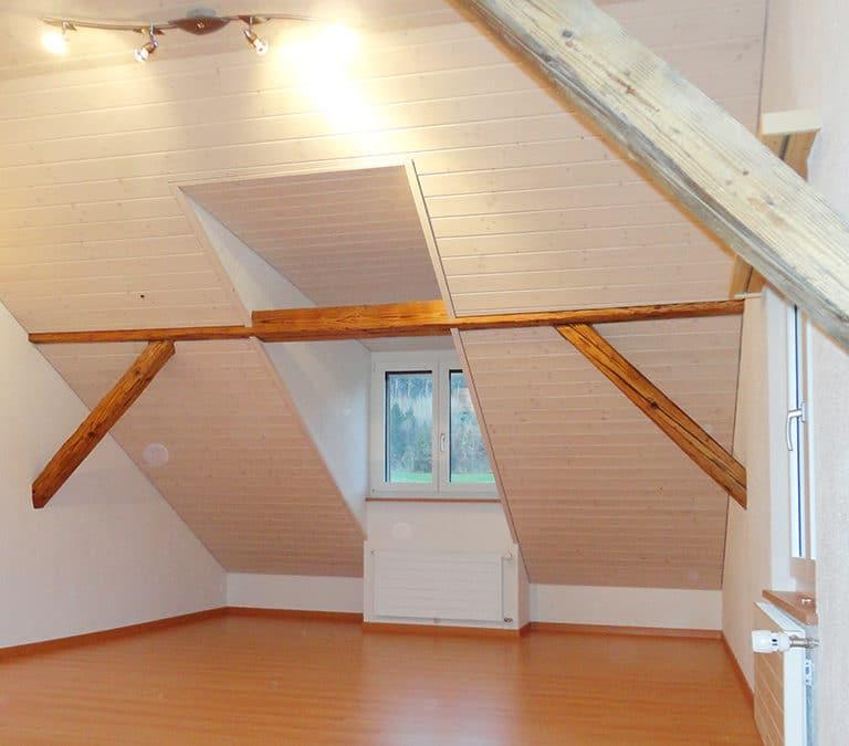 Ausbau Dachgeschoss in Balterswil