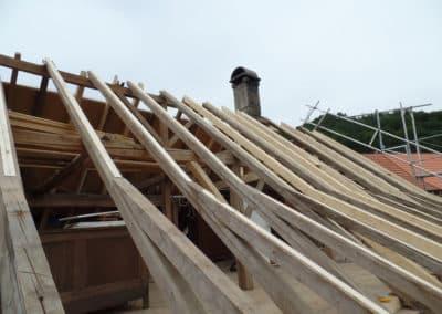 Dachsanierung Steildach in Bichelsee