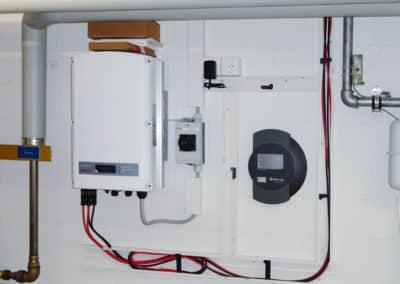 Wechselrichter und Solarlog