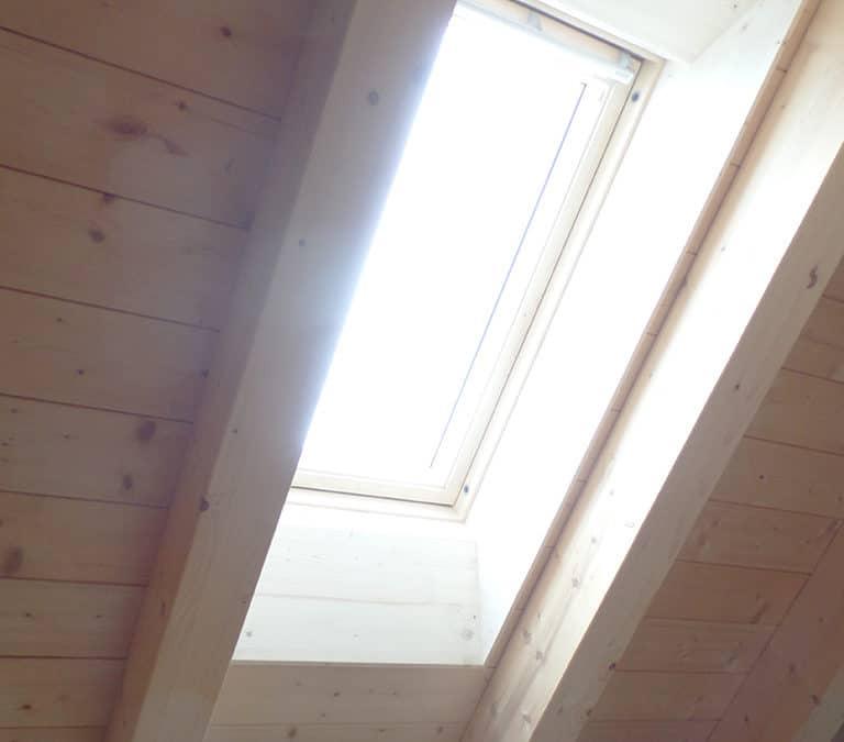 Nachträglicher Einbau Dachfenster in Bichelsee
