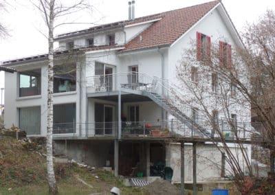 Verputzte Holzfaserplatten in Aadorf