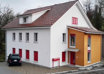 Totalsanierung Zweifamilienhaus in Aadorf