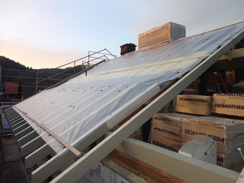 sanierung dachdämmung postgebäude balterswil   bau fair umbauten und