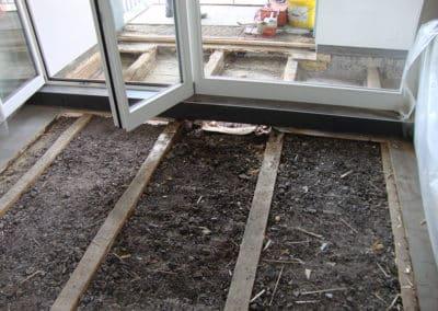 Alter Boden-Aufbau