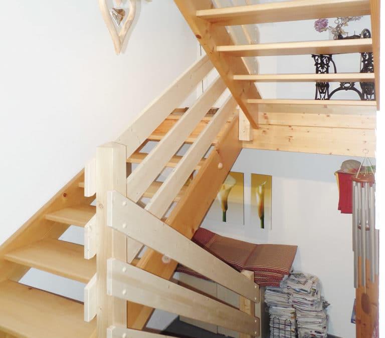 Treppengeländer sanieren in Bichelsee