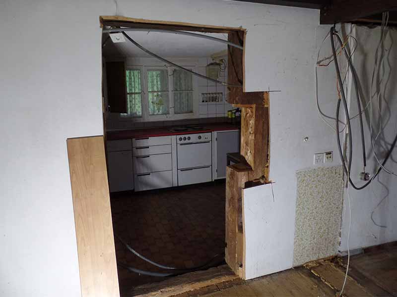 Umbau EFH in Dussnang