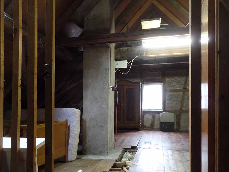 Imhof Beat, Dachgeschoss