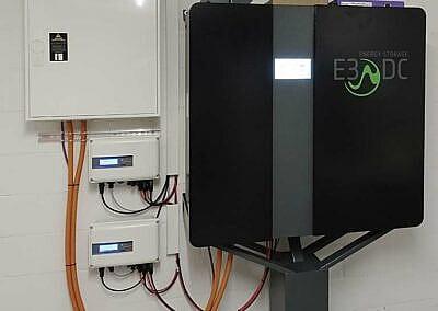 PV-Anlage Aufdach mit Batteriespeicher