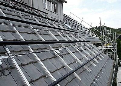 PV-Anlage Aufdach