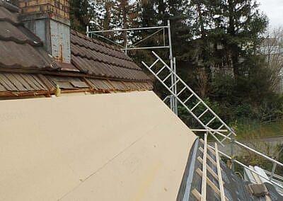 Dachdämmung in Riedt bei Erlen