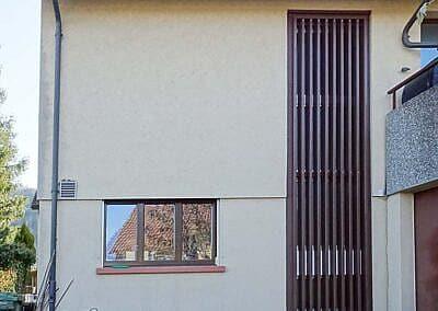 Fensterlamellen Fassade in Ettenhausen