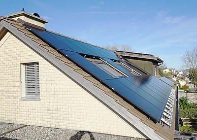 Aufdachanlage in Balterswil