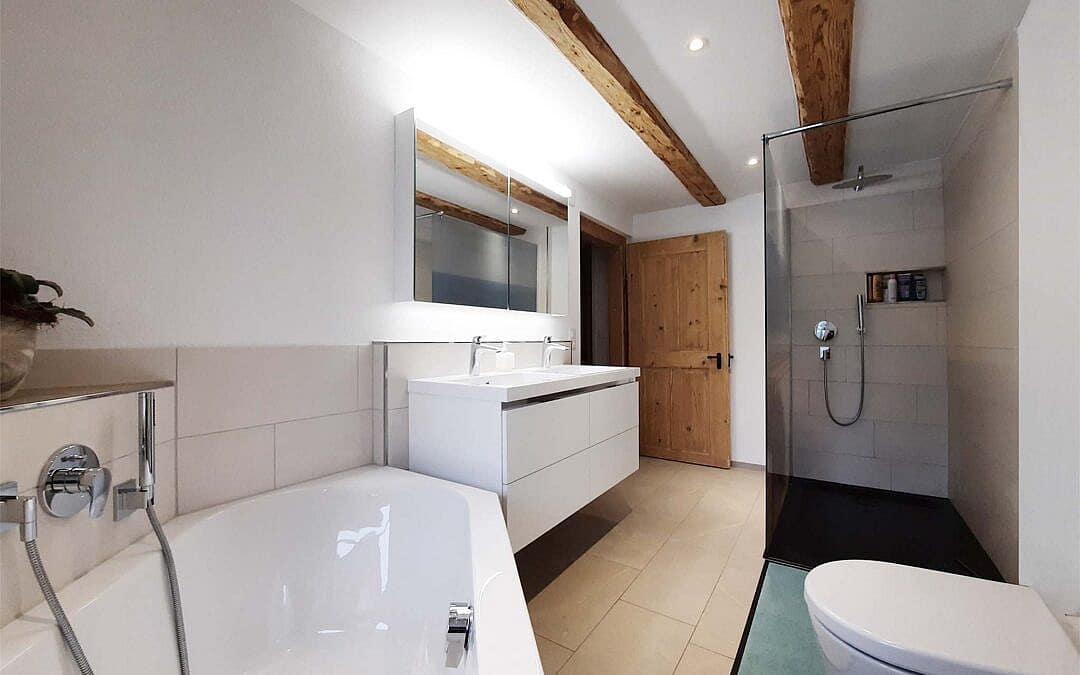 Badezimmer einbauen