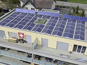 Photovoltaik-Anlagen installiert von Bau Fair