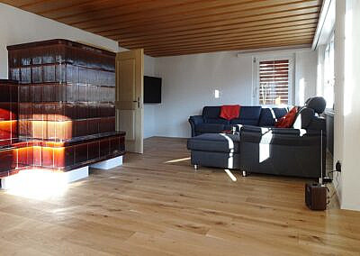 Sanierung Wohnzimmer in Gähwil